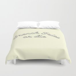 French fries or die Duvet Cover