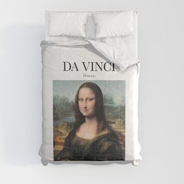 Da Vinci - Mona Lisa Comforters