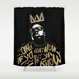 Brooklyn's King Shower Curtain