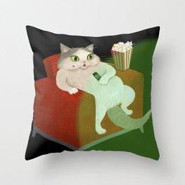 Couch Potatoe Throw Pillow