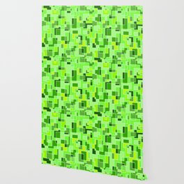 Pixelated Camouflage Wallpaper