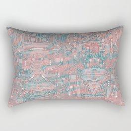 Circuitry Details 2 Rectangular Pillow