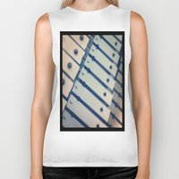 scales Biker Tanks featuring Scales by Rick Staggs