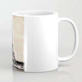 VINTAGE EIFFEL TOWER IN SEPIA Coffee Mug