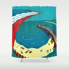 Red Arrows, Bournemouth Shower Curtain