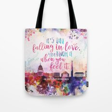 The Lovely Reckless - Like Falling in Love Tote Bag