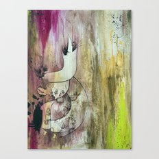 Purple Heart In Times of Peace Canvas Print