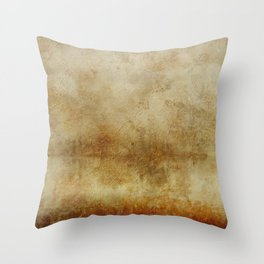 Antique Vintage Grunge Old Paper Distressed Paper Throw Pillow