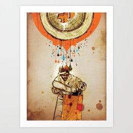 """The Blood & Sap Beneath Me"" Art Print"