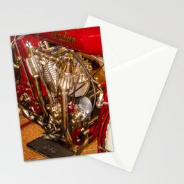 cycle engine Stationery Cards