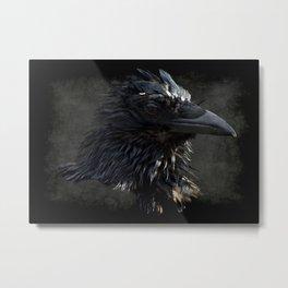 Raven Lord Metal Print
