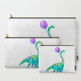 brachiosaurus with balloon Carry-All Pouch