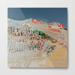 Salvation Mountain III Metal Print