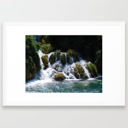 movingH2O Framed Art Print