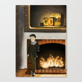 No.1 Christmas Series 1 - The Early Years Canvas Print