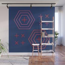 x + x + Wall Mural