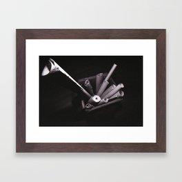 Ultra wide paper Framed Art Print
