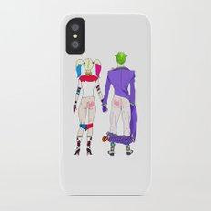 LOVE is no BUTT Joke iPhone X Slim Case