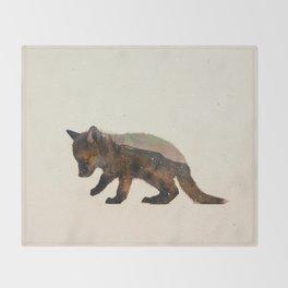 Little Ones: Fox Throw Blanket