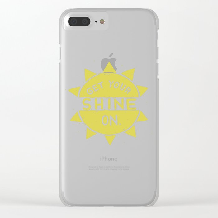 SH/NY Clear iPhone Case