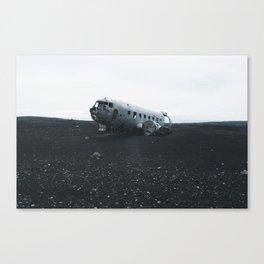 DC-3 Wreck I Canvas Print