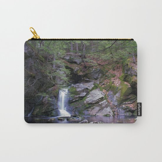 Purgatory Falls NH in May Carry-All Pouch