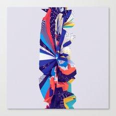 Column Fabric Canvas Print