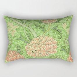 Chrysanthemum Floral Pattern Rectangular Pillow