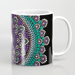 Purple and Teal Mandala Coffee Mug