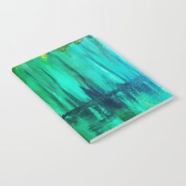 Green reflection Notebook