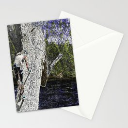 Climbing to Nirvana Stationery Cards