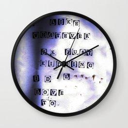 ink.0 Wall Clock