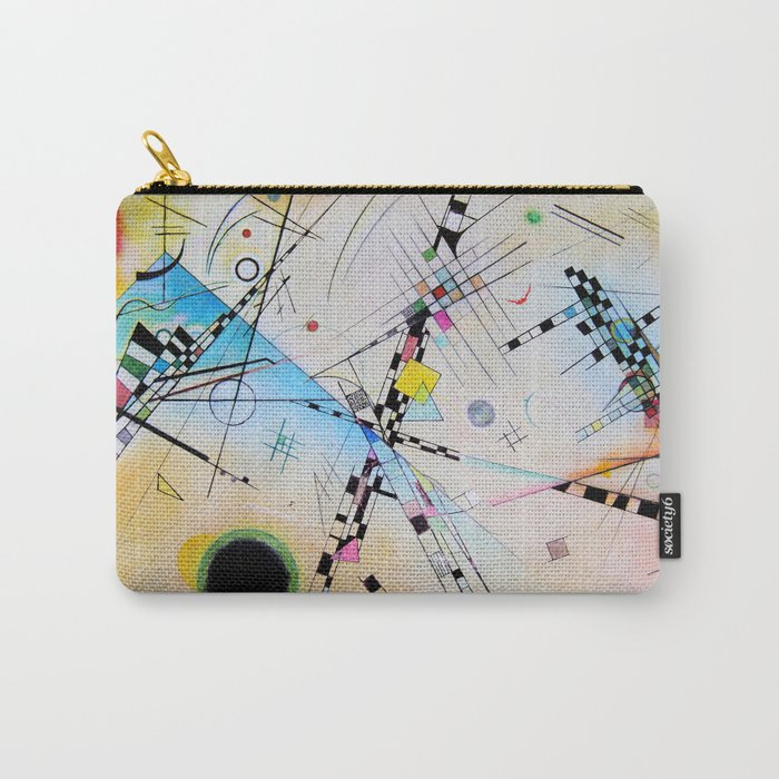 Kandinsky Reimagined Carry-All Pouch