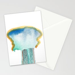 Beauty in destruction-migraine Stationery Cards