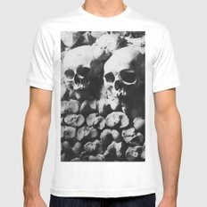 Catacombes Mens Fitted Tee White MEDIUM