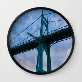 St. Johns Bridge, Gothic Tower Wall Clock
