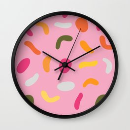 Who Dropped The Jelly Beans? Wall Clock