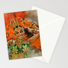 Carnival Queen Stationery Cards