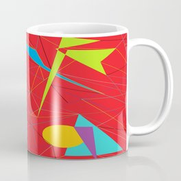 Euclid's Spider Webs Coffee Mug