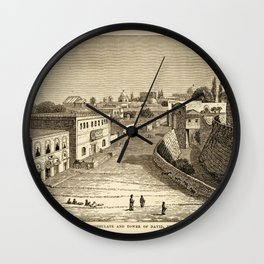 Jerusalem 1857 Wall Clock