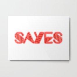 SaYes – she Metal Print