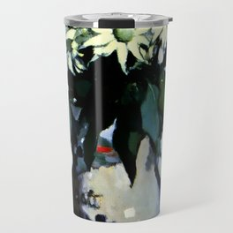"""Flannel Flowers"" by Australin Margaret Preston Travel Mug"
