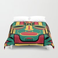 africa Duvet Covers featuring africa by francescoporoli