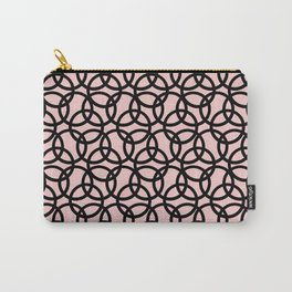 Olympica Black on Blush Carry-All Pouch