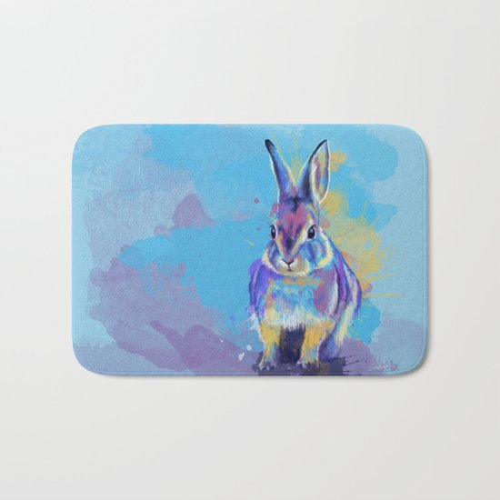 Bunny Dream Bath Mat
