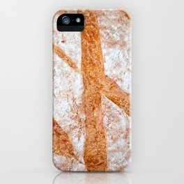 Hand Made Loaf Of Bread iPhone Case