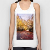 wanderlust Tank Tops featuring wanderlust by Sylvia Cook Photography