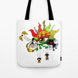 Colour Mix Tote Bag