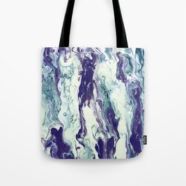 Mint Galaxy Tote Bag
