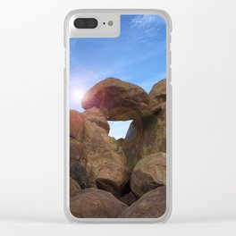 Stone Formation Clear iPhone Case